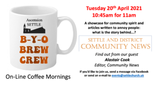 B-Y-O Coffee Morning : Hear all about it, Community News @ On-line